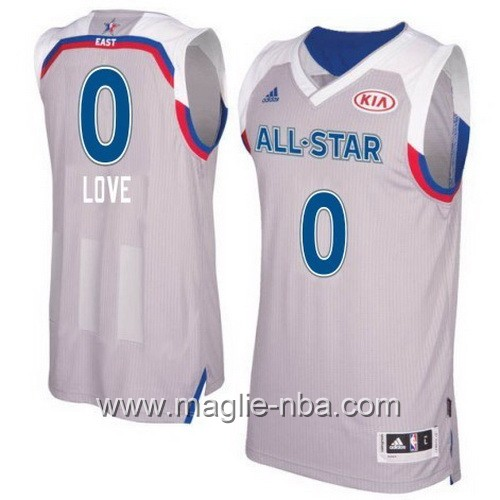 Canotte nba All Star Game 2017 East Kevin Love #0 grigio