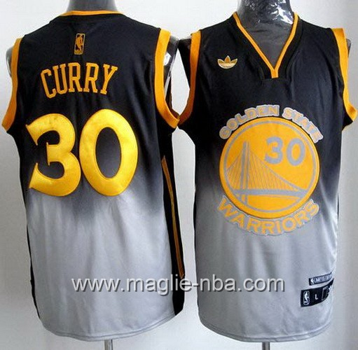 Canotta Golden State Warriors Stephen Curry #30 Fadeaway Moda
