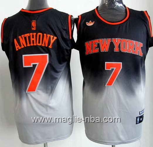Canotta New York Knicks Carmelo Anthony #7 Fadeaway Moda