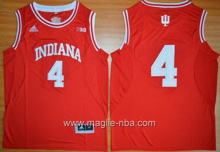 Canotte basket NCAA Indiana Hoosiers Victor Oladipo #4 rosso