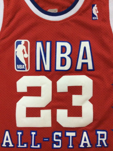 Canotte nba All Star Game 1989 Michael Jordan #23 rosso