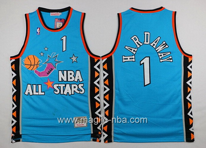 Canotte nba All Star Game 1996 Penny Hardaway #1 blu