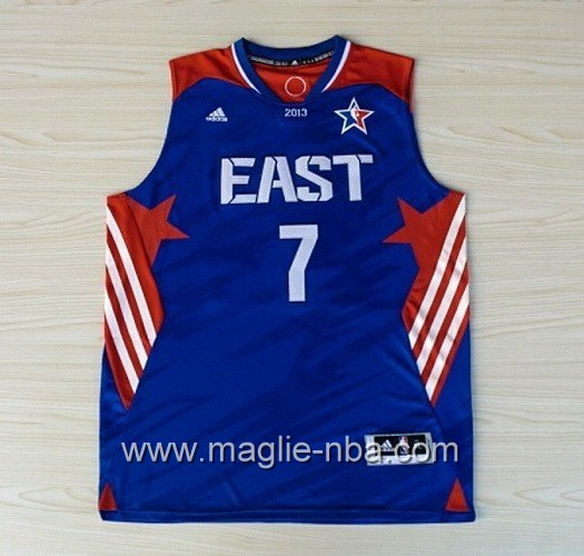 Canotte nba All Star Game 2013 East Carmelo Anthony #7 blu