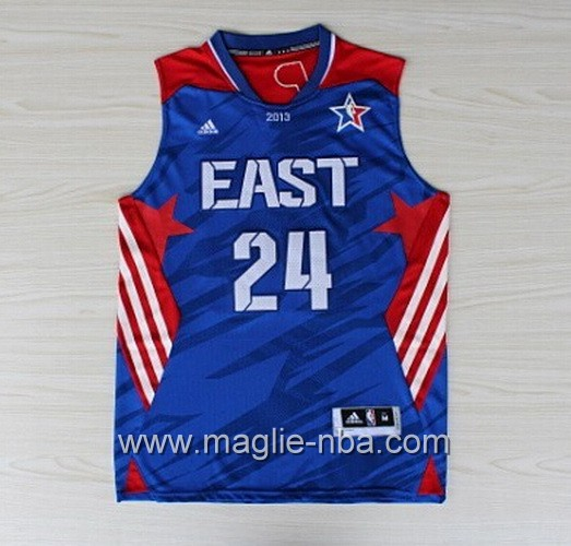 Canotte nba All Star Game 2013 East Paul George #24 blu