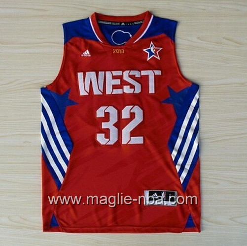 Canotte nba All Star Game 2013 West Blake Griffin #32 rosso