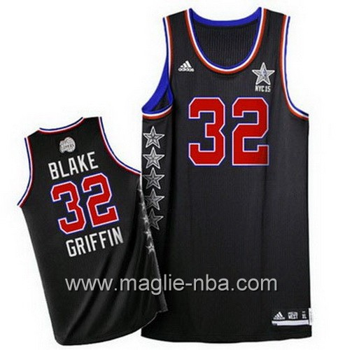 Canotte nba All Star Game 2015 Blake Griffin #32 nero