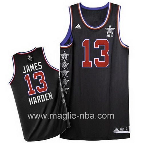 Canotte nba All Star Game 2015 James Harden #13 nero