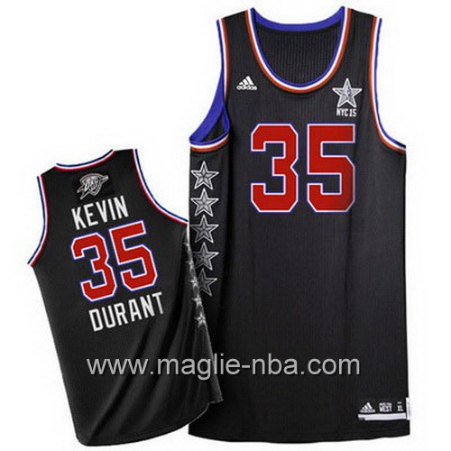Canotte nba All Star Game 2015 Kevin Durant #35 nero