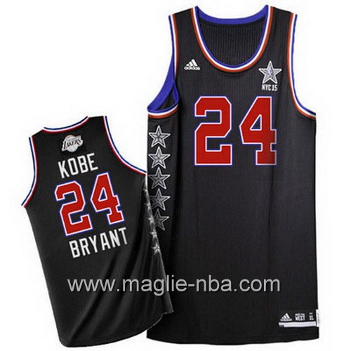 Canotte nba All Star Game 2015 Kobe Bryant #24 nero