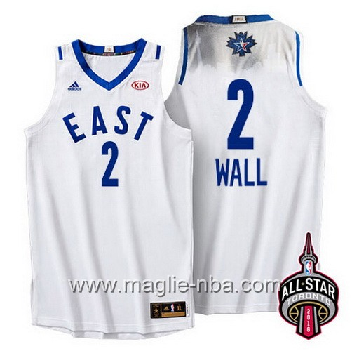 Canotte nba All Star Game 2016 East Kyrie Irving #2 bianco