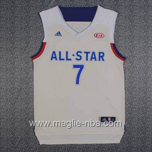 Canotte nba All Star Game 2017 East Carmelo Anthony #7 grigio