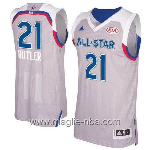Canotte nba All Star Game 2017 East Jimmy Butler #21 grigio