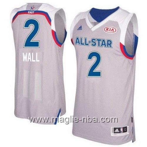 Canotte nba All Star Game 2017 East John Wall #2 grigio