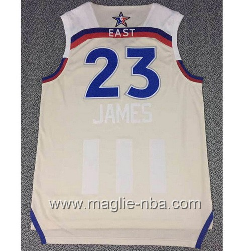 Canotte nba All Star Game 2017 East LeBron James #23 grigio