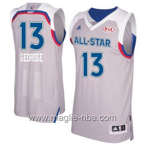 Canotte nba All Star Game 2017 East Paul George #13 grigio
