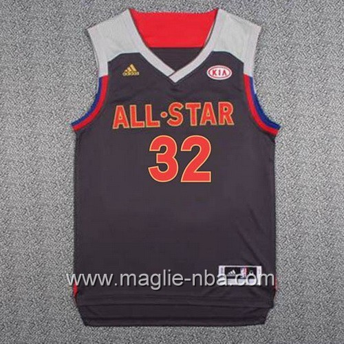 Canotte nba All Star Game 2017 West Blake Griffin #32 nero