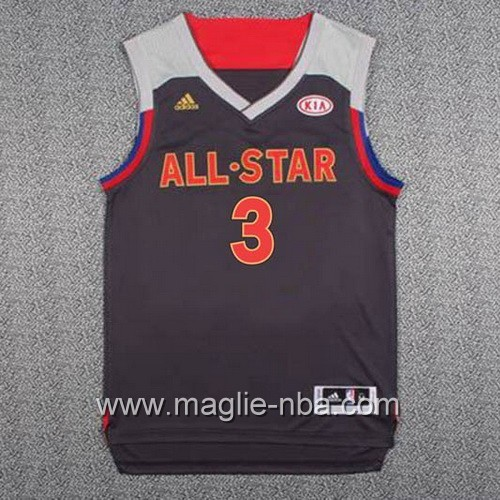 Canotte nba All Star Game 2017 West Chris Paul #3 nero