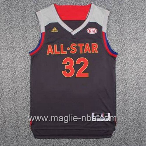Canotte nba All Star Game 2017 West Karl-Anthony Towns #32 nero
