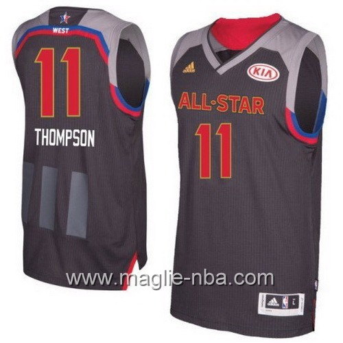 Canotte nba All Star Game 2017 West Klay Thompson #11 nero