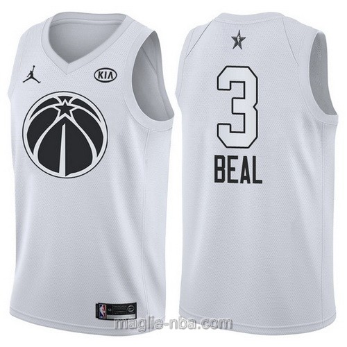 Canotte nba all star game 2018 Bradley Beal #3 Washington Wizards bianco