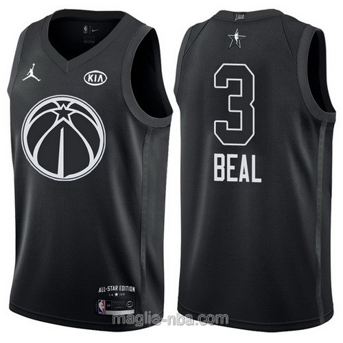 Canotte nba all star game 2018 Bradley Beal #3 Washington Wizards nero