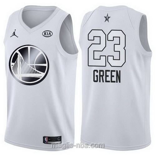 Canotte nba all star game 2018 Draymond Green #23 Golden State Warriors bianco