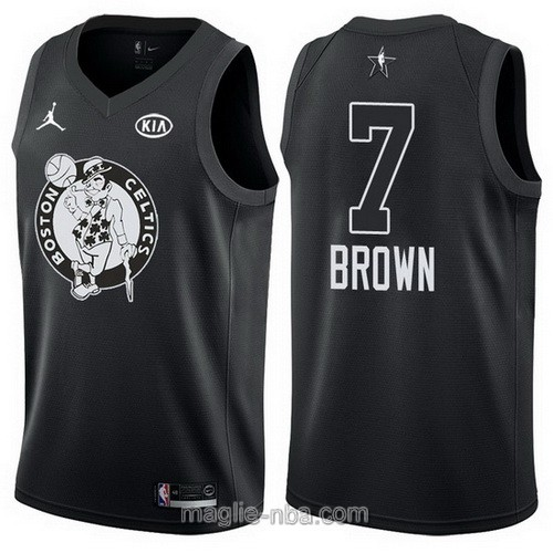 Canotte nba all star game 2018 Jaylen Brown #7 Boston Celtics nero