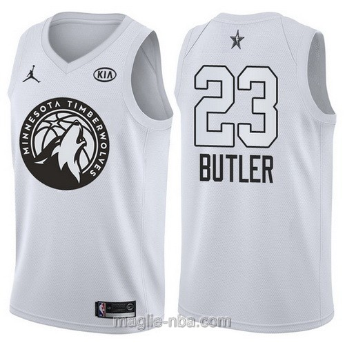 Canotte nba all star game 2018 Jimmy Butler #23 Minnesota Timberwolves bianco