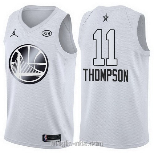Canotte nba all star game 2018 Klay Thompson #11 Golden State Warriors bianco