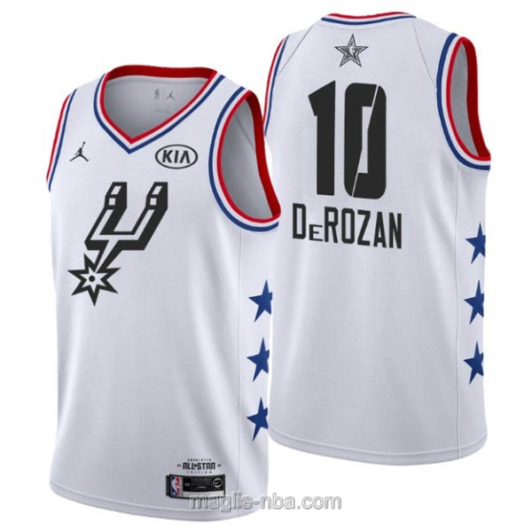 Canotte nba all star game 2019 #10 DeMar DeRozan bianco
