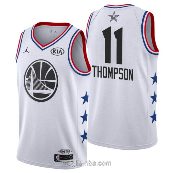 Canotte nba all star game 2019 #11 Klay Thompson bianco