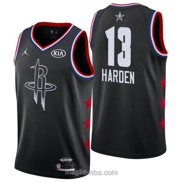 Canotte nba all star game 2019 #13 James Harden nero