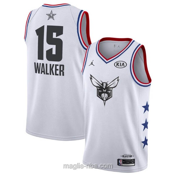 Canotte nba all star game 2019 #15 Kemba Walker bianco