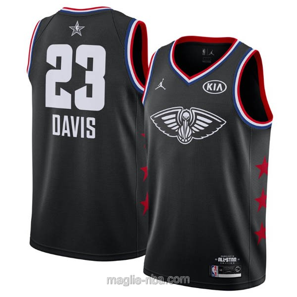 Canotte nba all star game 2019 #23 Anthony Davis nero