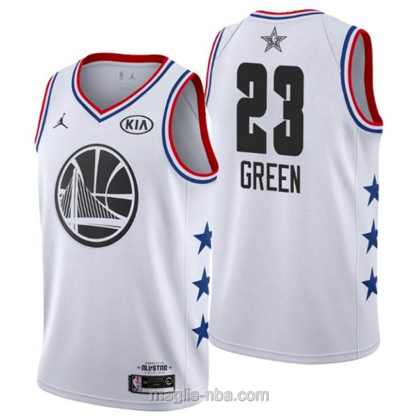 Canotte nba all star game 2019 #23 Draymond Green bianco