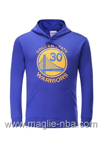 Felpa con cappuccio NBA Golden State Warriors Stephen Curry #30 porpora