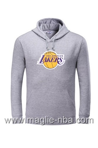 Felpa con cappuccio NBA Los Angeles Lakers Kobe Bryant #24 grigio
