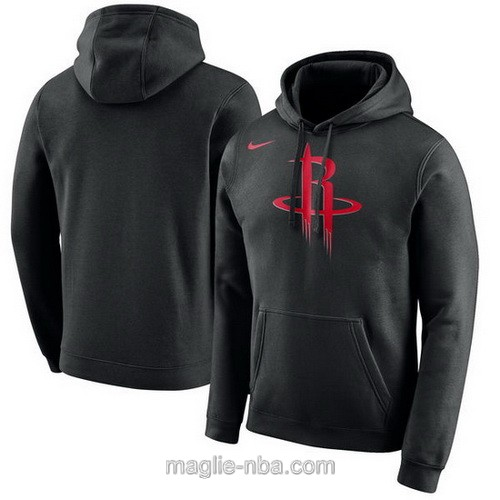 Felpa con cappuccio NBA Nike Houston Rockets nero