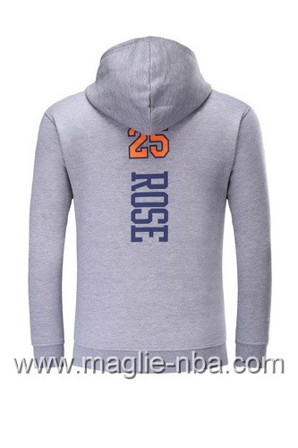 Acquista Felpa con cappuccio NBA New York Knicks Derrick Rose  25 grigio 5902f0f52c07