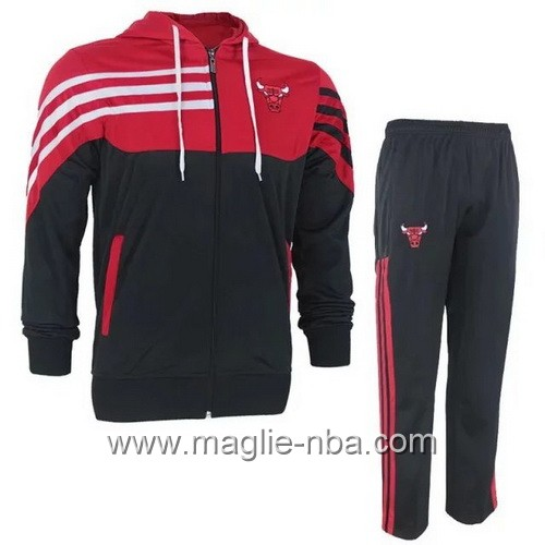 Giacca Basket NBA Chicago Bulls nero