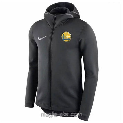 Giacca basket nba Golden State Warriors nero