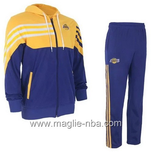 Giacca Basket NBA Los Angeles Lakers blu marino