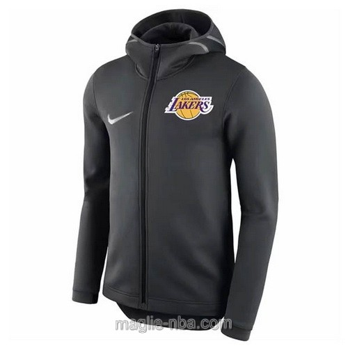 Giacca basket nba Nike Los Angeles Lakers nero