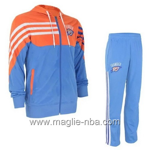 Giacca Basket NBA Oklahoma City Thunder blu