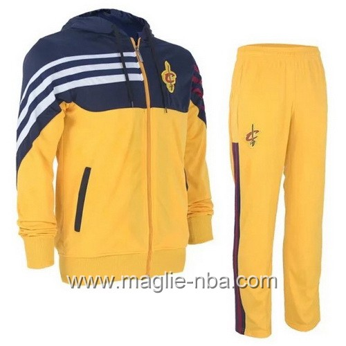 Giacca Basket NBA Cleveland Cavaliers giallo