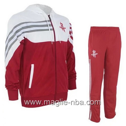 Giacca Basket NBA Houston Rockets rosso