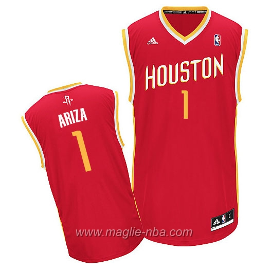 Maglia Alternate Swingman Trevor Ariza #1 rosso Houston Rockets