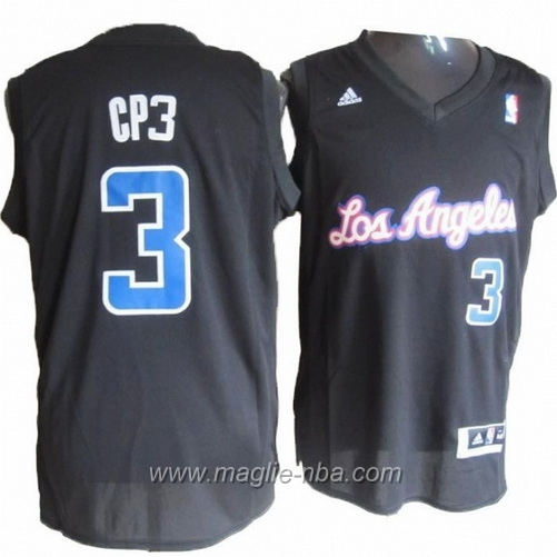 Maglia CP3 Nickname Swingman Chris Paul #3 nero Los Angeles Clippers