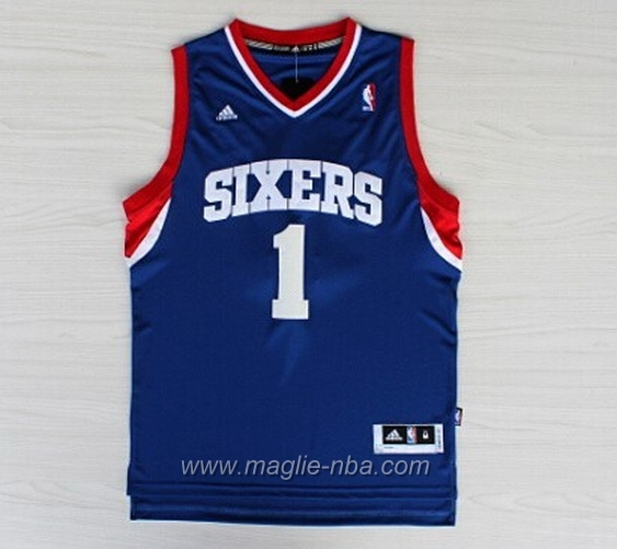 Maglia Carter-Williams #1 blu Philadelphia 76ers