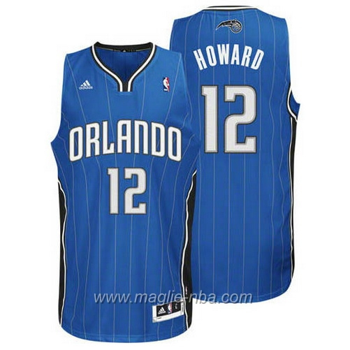 Maglia Dwight Howard #12 blu Orlando Magic